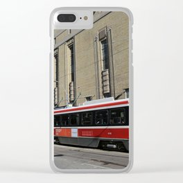Red Rocket 23 Clear iPhone Case