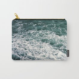 Waves.Ocean.Water Texture.35mm film.Oregon.Sea.Coast.Teal. Carry-All Pouch