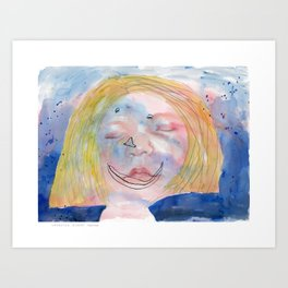 I feel tired Art Print