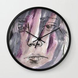 Hands watercolor Wall Clock