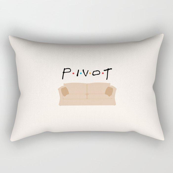 Pivot - Friends Tribute Rectangular Pillow