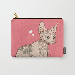 Tattoo Sphynx Carry-All Pouch