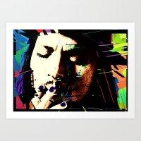 johnny depp Art Prints featuring Johnny Depp by brett66