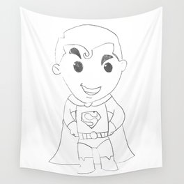 Superboy Rock Wall Tapestry