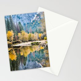 Yosemite Fall Color On The Merced River  11-1-18 Stationery Cards