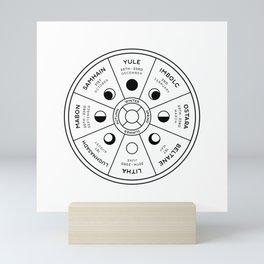 Wheel of the Year Mini Art Print