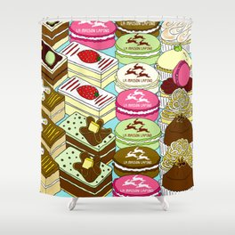 Cakes Cakes Cakes! Shower Curtain