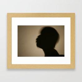 Shadowman II Framed Art Print