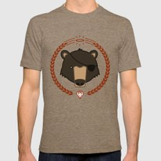 Mr. Bear Tri-Coffee Mens Fitted Tee X-LARGE