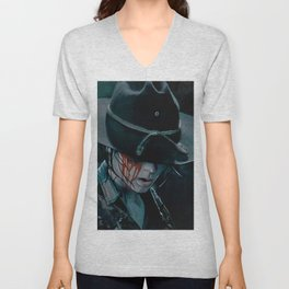Carl Grimes Shot In The Eye - The Walking Dead Unisex V-Neck