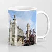 spires Mugs featuring Oxford Spires by Ann Horn