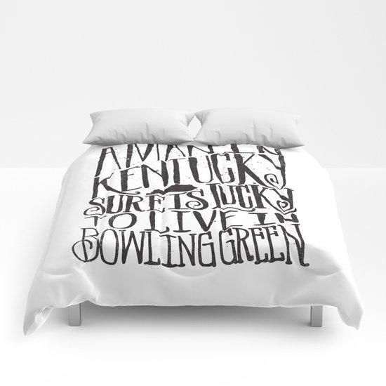 KENTUCKY MAN Comforters