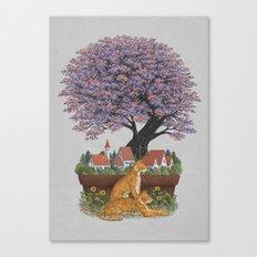 Bonsai Village Canvas Print