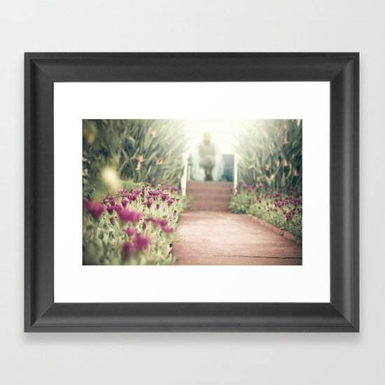 waiting for you Framed Art Print