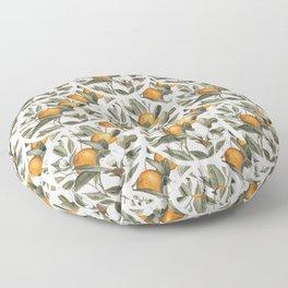 Orange Blossom Floor Pillow