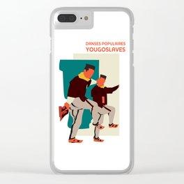 Glory to Yugoslavian design Clear iPhone Case