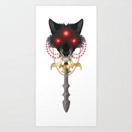 Sword Eater Art Print