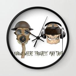 Teleological Claptrap 01 Wall Clock