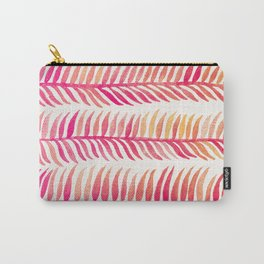 Pink Ombré Seaweed Carry-All Pouch