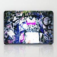 bathroom iPad Cases featuring Bathroom Graffiti by Bendey