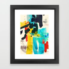 Lonely Water Framed Art Print