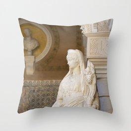 Casa De Pilatos - Sevillian Sculpture Throw Pillow
