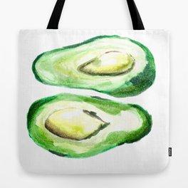 Avocado Twins Tote Bag