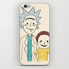 A Study of Squanch Mondernism iPhone Skin