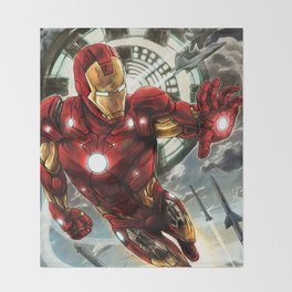 Iron Man Throw Blanket
