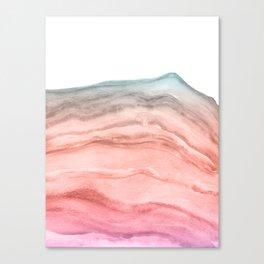 Agate Art Southwest Colors Canvas Print