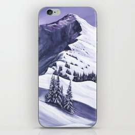 Pointe De Chesery iPhone Skin