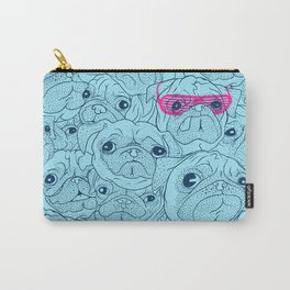 Pug jumble Carry-All Pouch