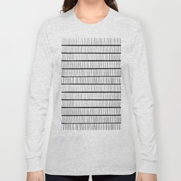 line pattern Long Sleeve T-shirt