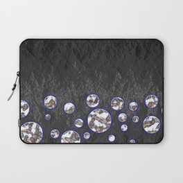 Asteroid Belt of Silver Moons Laptop Sleeve