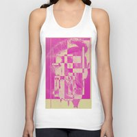 pop art Tank Tops featuring Pop by MonsterBrown