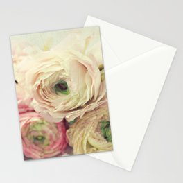 the palest pink Stationery Cards