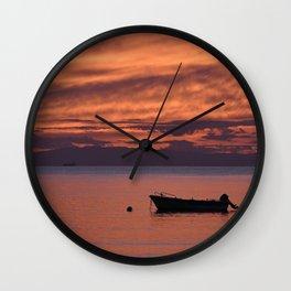 Cape Sounio 3 Wall Clock