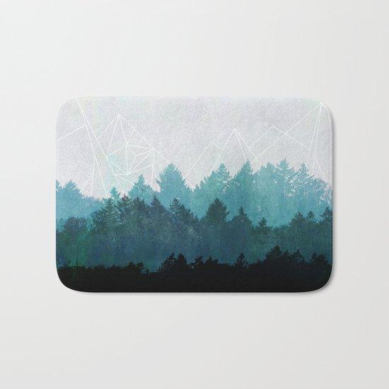 Woods Abstract  Bath Mat