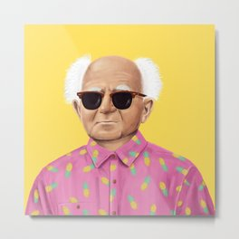 The Israeli Hipster leaders - David Ben Gurion Metal Print