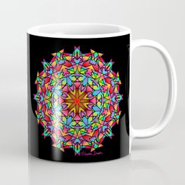 Psychedelic Porcupine Mandala Coffee Mug