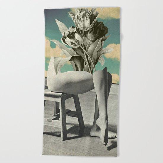 She's Gone Beach Towel
