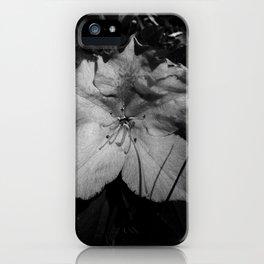 La petite fleur grise iPhone Case