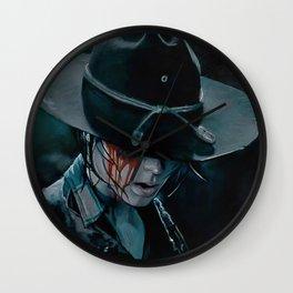 Carl Grimes Shot In The Eye - The Walking Dead Wall Clock