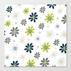 Simple Multi Flower Canvas Print
