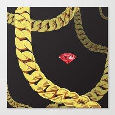 Luxury Red Canvas Print