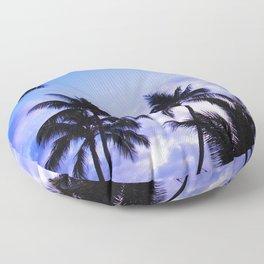 Twilight Palms Floor Pillow
