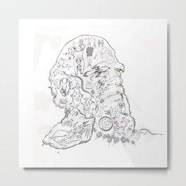 darwin Metal Print