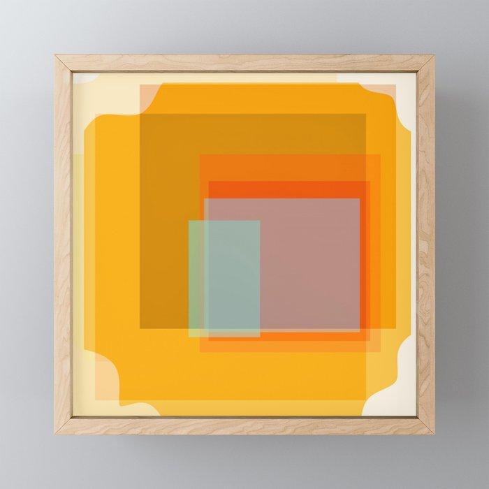Glass Framed Mini Art Print