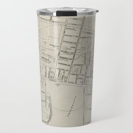 Vintage Map of Princeton NJ (1915) Travel Mug
