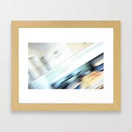 Life is a blight  in an office closed tight. Framed Art Print